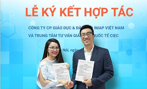 [CIEC] IMAP hợp tác tư vấn du học với trung tâm thuộc Bộ Giáo dục