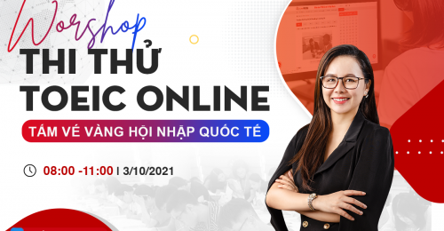 Workshop thi thử TOEIC online -