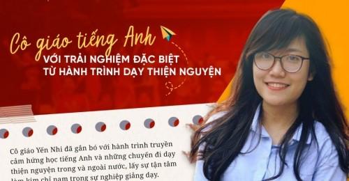 Cô giáo Tiếng Anh trưởng thành từ hành trình dạy thiện nguyện - Ms Nguyễn Yến Nhi