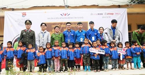 Đông ấm cùng IMAP - Chung tay sưởi ấm vùng cao Nghệ An