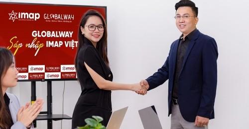 [VnExpress]  Hệ thống đào tạo Anh ngữ IMAP Việt Nam vừa sáp nhập công ty du học, định cư, đầu tư, bất động sản Globalway vào hệ sinh thái của doanh nghiệp.