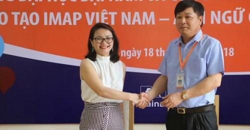 [Dân trí] Đại học Đại Nam ký kết hợp tác chiến lược cùng IMAP Việt Nam