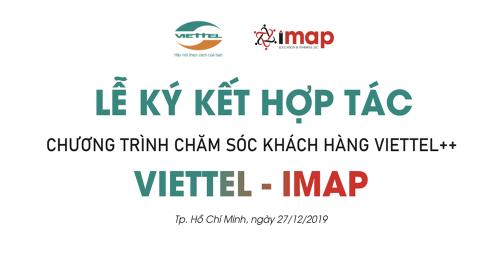IMAP Việt Nam ký kết thỏa thuận hợp tác cùng Viettel
