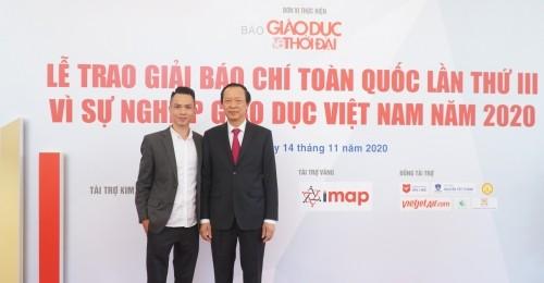 [Toquoc.vn] - IMAP đồng hành cùng Bộ Giáo dục và Đào tạo trong các sự kiện lớn ngành Giáo dục