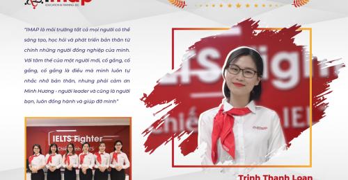 Trịnh Thanh Loan - Cố gắng, cố gắng, cố gắng là điều mình luôn tự nhắc nhở bản thân