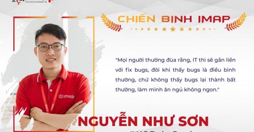 Nguyễn Như Sơn - Chiến binh IMAP Tech