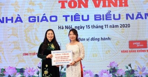 [Giaoducthoidai] IMAP Việt Nam đồng hành cùng Bộ GD&ĐT và CĐGDVN tôn vinh Nhà giáo tiêu biểu năm 2020
