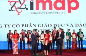 [Giaoducthoidai] - Công ty IMAP lọt top Doanh nghiệp tiêu biểu ASEAN 2021