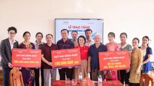 IMAP trao tặng 100.000.000Đ cùng nhiều học bổng có giá trị đến trường THCS Quỳnh Thạch, Quỳnh Lưu, Nghệ An