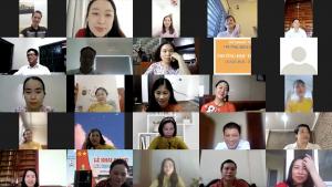 Vạn tâm tình gửi Nghệ An thương mến cùng lớp học đặc biệt của Anh ngữ Ms Hoa