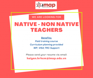 Expat English Teachers in HO CHI MINH CITY