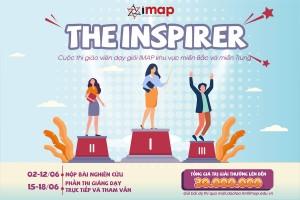 IMAP tổ chức Cuộc thi THE INSPIRER - GIÁO VIÊN DẠY GIỎI IMAP VIỆT NAM 2021