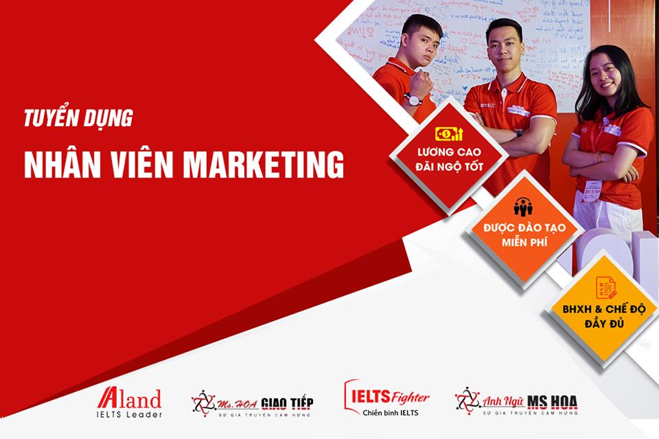 Truy tìm siêu nhân Marketing - Thu nhập 12-15 Triệu/tháng + Thưởng KPI
