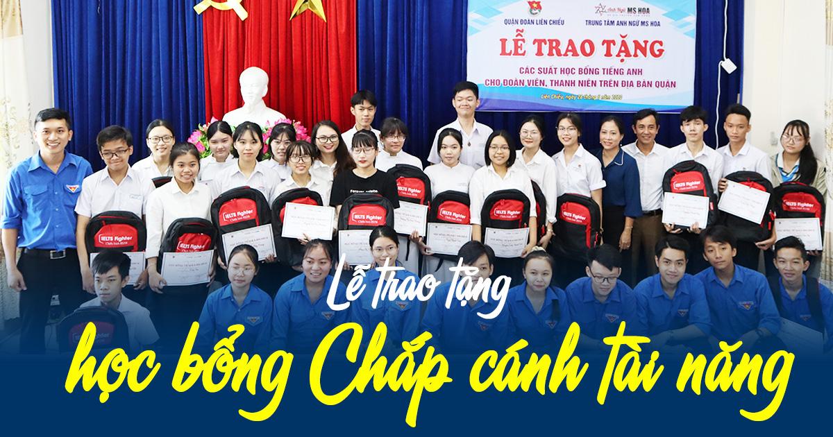 IMAP tặng 30 suất học bổng trị giá 170 triệu đồng cho học sinh các trường THPT có hoàn cảnh khó khăn tại quận Liên Chiểu, Đà Nẵng