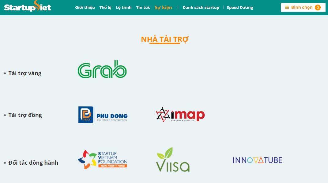Công ty IMAP Việt Nam tài trợ đồng chương trình Startu Việt 2018 cùng báo Vnexpress 1