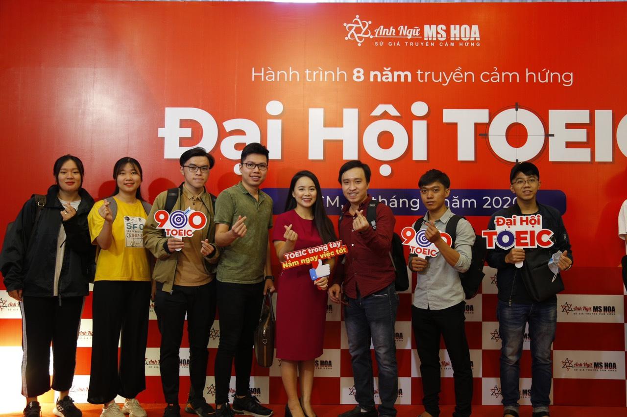 [Báo Doanh nghiệp thương hiệu] Anh ngữ Ms Hoa tổ chức cuộc thi TOEIC miễn phí cho gần 1000 thí sinh